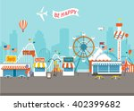 fair day | Shutterstock .eps vector #402399682