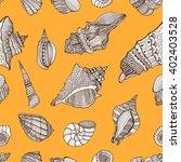 zentangle stylized sea...   Shutterstock .eps vector #402403528