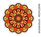 ugadi and gudi padwa the new... | Shutterstock .eps vector #402412696