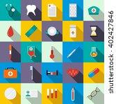 medicine set | Shutterstock .eps vector #402427846