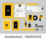 corporate identity template for ...   Shutterstock .eps vector #402491932