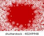 jpeg version. nice christmas... | Shutterstock . vector #40249948