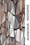 randomly scattered triangles of ...   Shutterstock .eps vector #402526942