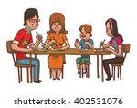 vector cartoon image of a... | Shutterstock .eps vector #402531076