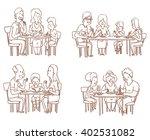 vector cartoon image of a set... | Shutterstock .eps vector #402531082