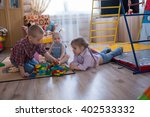 kids siblings brother and... | Shutterstock . vector #402533332