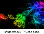 colored abstract smoke ...