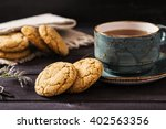 Soft Ginger Cookies With Cracks