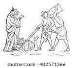 murder of ethelbert  vintage... | Shutterstock .eps vector #402571366