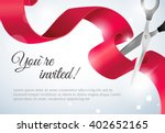 you are invited invitation card ... | Shutterstock .eps vector #402652165