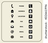 Set Of Web Icons For Business...