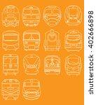 train engine | Shutterstock .eps vector #402666898
