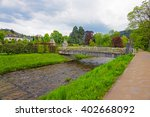 Bridge And River In...