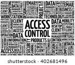 access control word cloud... | Shutterstock .eps vector #402681496