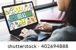 ideas design innovation... | Shutterstock . vector #402694888