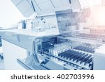 hospital laboratories ... | Shutterstock . vector #402703996
