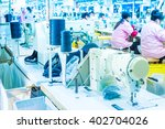 Small photo of Labor force work in the garment factory