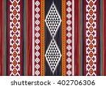 geometric ethnic oriental ikat... | Shutterstock .eps vector #402706306