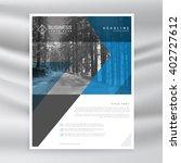 business corporate brochure... | Shutterstock .eps vector #402727612