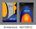 brochure flyer design template... | Shutterstock .eps vector #402728512