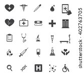 set of medical icons   Shutterstock .eps vector #402763705