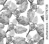 stylized flowers  illustration. ... | Shutterstock . vector #402778738
