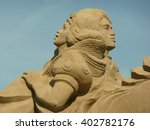 Sand Sculpture At Noordwijk Th...
