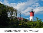 Nauset Lighthouse  With Its...
