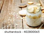 overnight oats with greek... | Shutterstock . vector #402800065