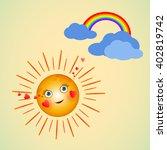 Cartoon Character Sun Girl...