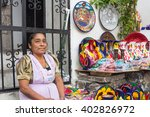 traditional mexican crafts... | Shutterstock . vector #402826972