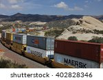 freight train with cargo...   Shutterstock . vector #402828346