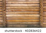 Part Of The Wall Made Of Wooden ...