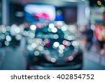 Light Bokeh Of  Car Blurred...