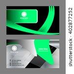 vector abstract creative... | Shutterstock .eps vector #402877252