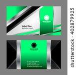 modern business   card  | Shutterstock .eps vector #402879925