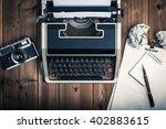 typewriter | Shutterstock . vector #402883615