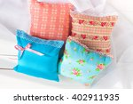 aromatherapy pillows ... | Shutterstock . vector #402911935