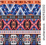 seamless colorful pattern in... | Shutterstock . vector #402932032
