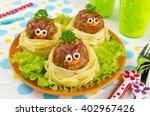 Funny Spaghetti With Meatballs...
