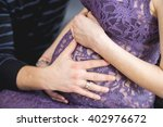 image of pregnant woman... | Shutterstock . vector #402976672
