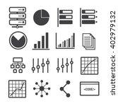 data icon set | Shutterstock .eps vector #402979132