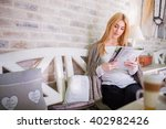 reading in silence | Shutterstock . vector #402982426