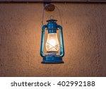 blue lantern | Shutterstock . vector #402992188