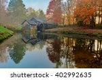 Mabry Mill At Sunrise In October