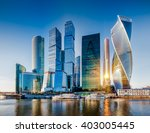 moscow city   view of... | Shutterstock . vector #403005445