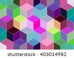 abstract colorful gradient... | Shutterstock . vector #403014982