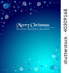 blue winter background | Shutterstock .eps vector #40309168