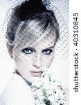 portrait of a beautiful women... | Shutterstock . vector #40310845
