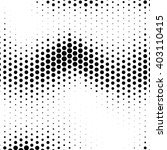 abstract  halftone effect... | Shutterstock .eps vector #403110415